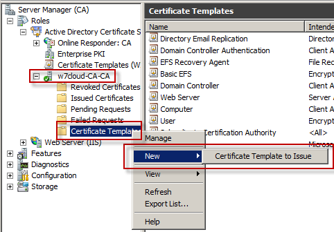 Auto enrollment of user certificate in active directory networking issue certificate to active directory yadclub Choice Image