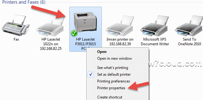 elect the printer for duplex printing