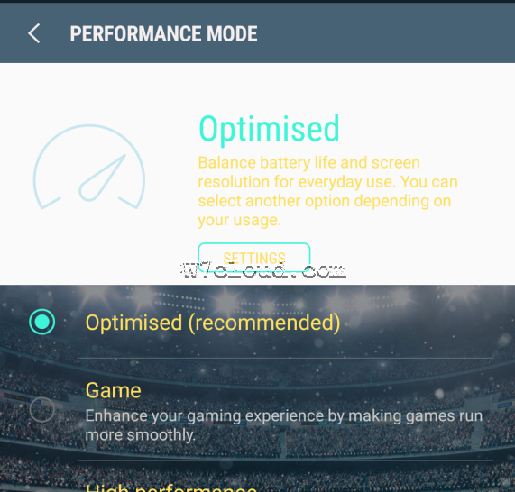 performance mode nougat android