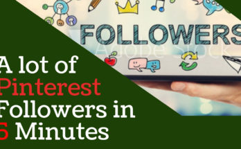 How To Get More Followers on Pinterest | Fast Pinterest Follower Hack