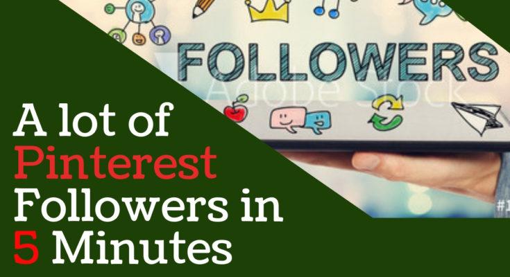 How To Get More Followers on Pinterest | Fast Pinterest Follower Hack