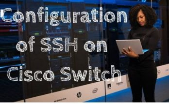Configuration of SSH on Cisco Switch