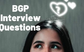 BGP Interview Questions