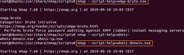 nmap script command