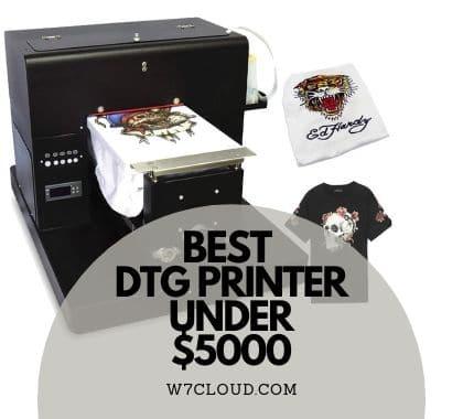 Best DTG Printer Under $5000
