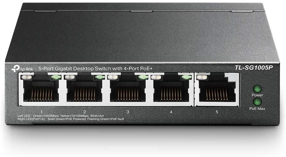 TP-Link TL-SG1005P V2   5 Port Gigabit PoE Switch